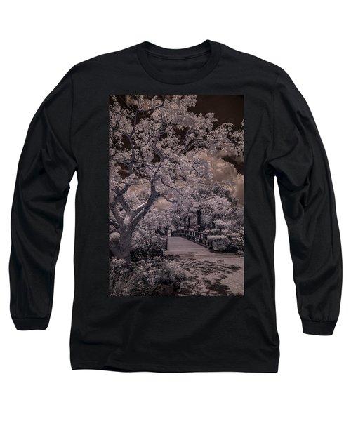 Morikami Gardens - Bridge Long Sleeve T-Shirt
