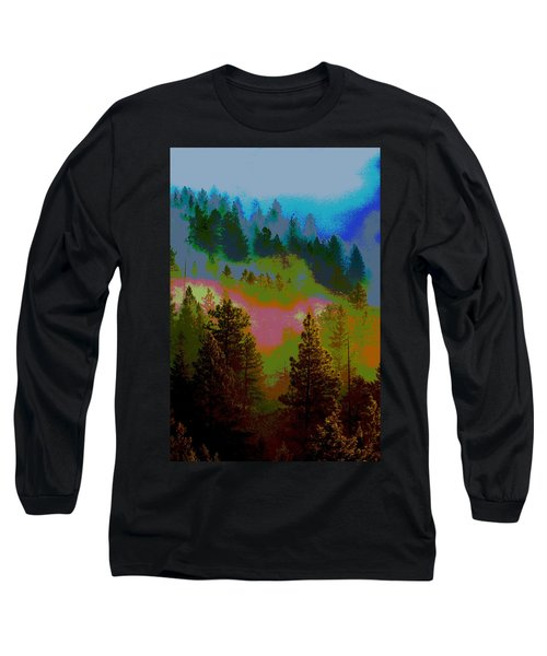 Morning Arrives In The Pacific Northwest Long Sleeve T-Shirt