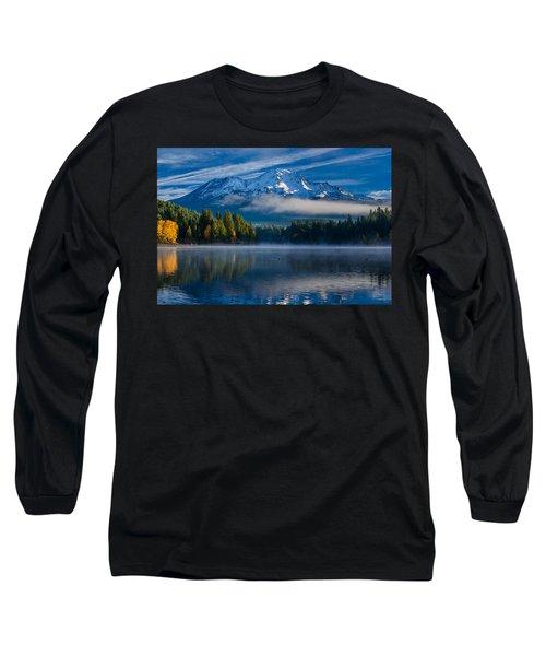 Morning At Siskiyou Lake Long Sleeve T-Shirt