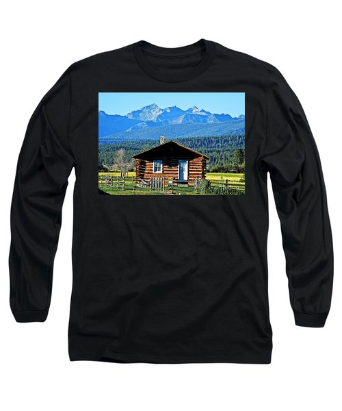 Long Sleeve T-Shirt featuring the photograph Morning At The Getaway by Joseph J Stevens