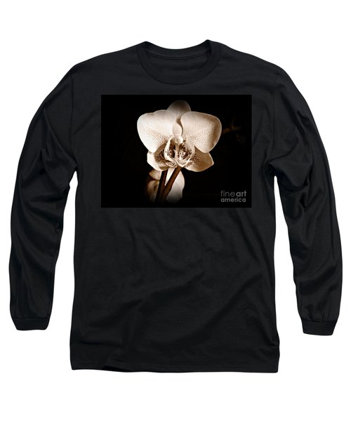 Morning Beauty Sepia Long Sleeve T-Shirt