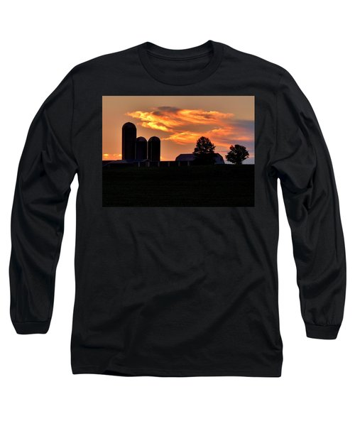 Morning Blush Long Sleeve T-Shirt by Robert Geary