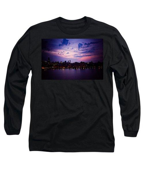 Morning Glory Long Sleeve T-Shirt by Sara Frank