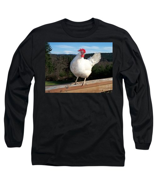 Long Sleeve T-Shirt featuring the photograph Morning Greeting by Chalet Roome-Rigdon