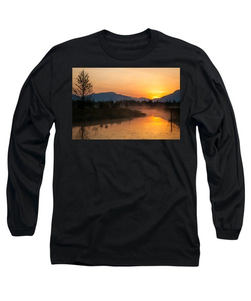 Long Sleeve T-Shirt featuring the photograph Morning Has Broken by Jack Bell