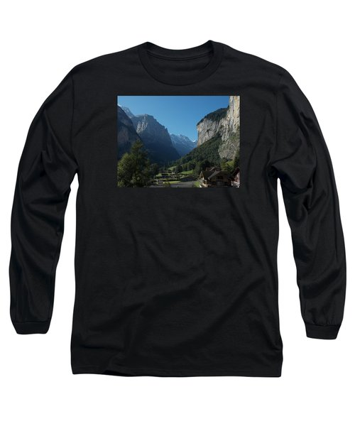 Morning In Lauterbrunnen Long Sleeve T-Shirt
