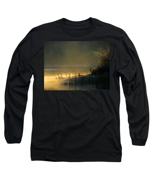 Long Sleeve T-Shirt featuring the photograph Morning Mist by Dianne Cowen