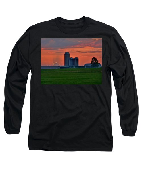 Morning Promise Long Sleeve T-Shirt by Robert Geary