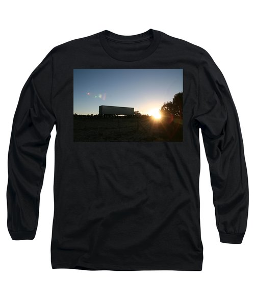 Long Sleeve T-Shirt featuring the photograph Morning Run by David S Reynolds