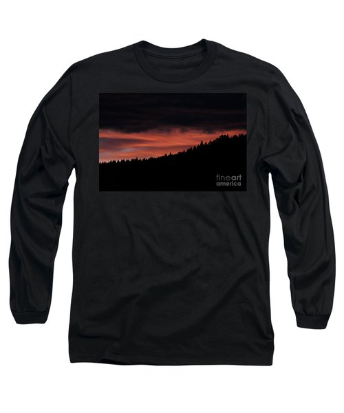 Long Sleeve T-Shirt featuring the photograph Morning View by Ann E Robson