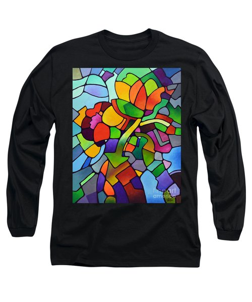 Mosaic Bouquet Long Sleeve T-Shirt