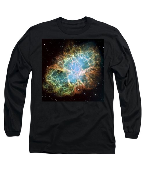 Most Detailed Image Of The Crab Nebula Long Sleeve T-Shirt