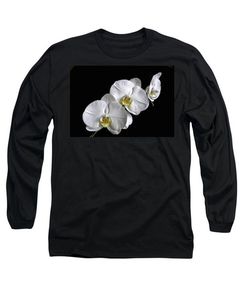 Moth Orchid Trio Long Sleeve T-Shirt