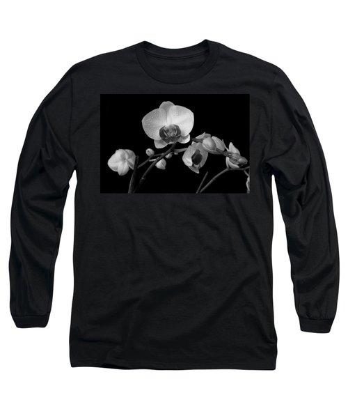 Moth Orchids Long Sleeve T-Shirt by Ron White