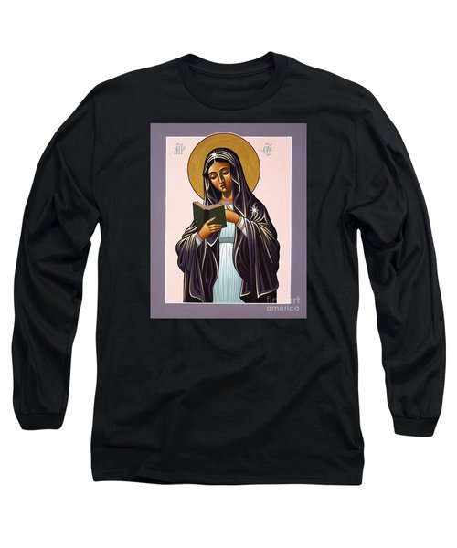 Mother Of The Incarnate Word 071 Long Sleeve T-Shirt