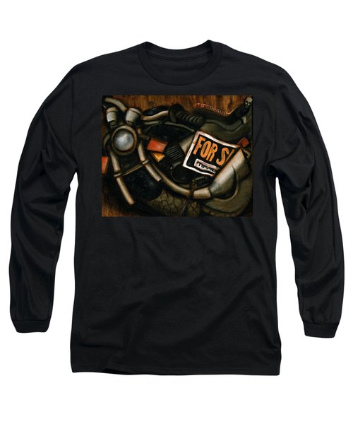 Used Motorcycle For Sale Art Print Long Sleeve T-Shirt