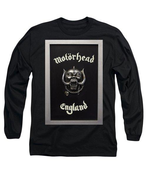 Motorhead England Long Sleeve T-Shirt by Jerry Cordeiro