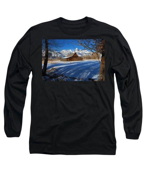 Moulton Barn Long Sleeve T-Shirt by Adam Jewell
