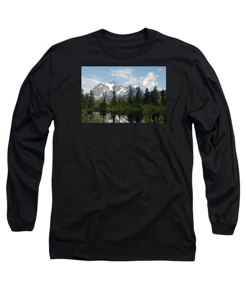 Mount Baker  Long Sleeve T-Shirt