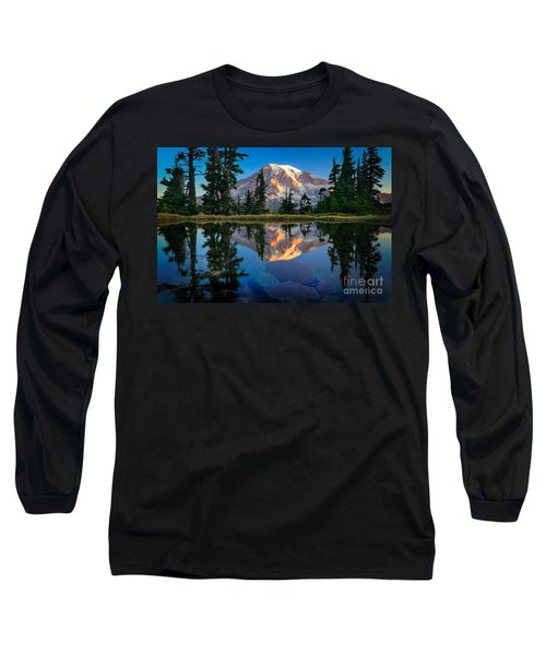 Mount Rainier From Tatoosh Range Long Sleeve T-Shirt