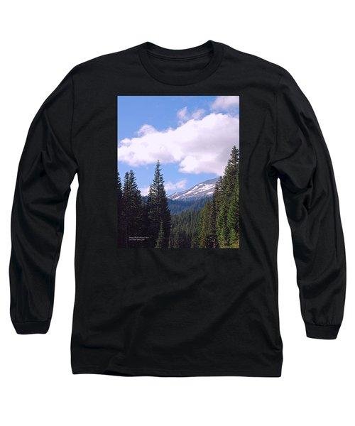 Mount Rainier National Park Long Sleeve T-Shirt by Connie Fox
