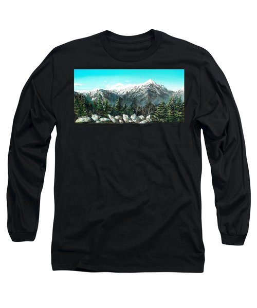 Mount Washington Long Sleeve T-Shirt