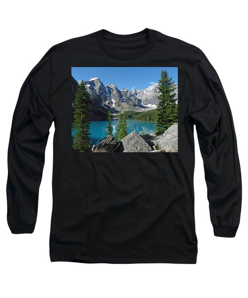 Mountain Magic Long Sleeve T-Shirt by Alan Socolik