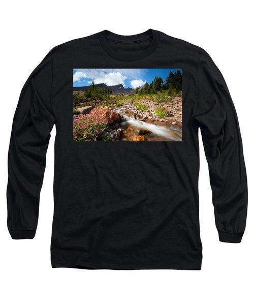 Mountain Runoff Long Sleeve T-Shirt