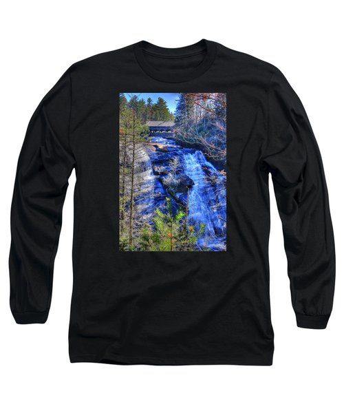 Mountain Waterfall Long Sleeve T-Shirt