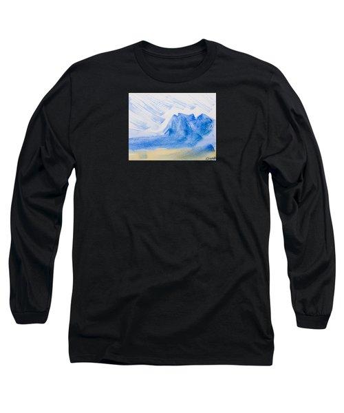 Mountains Tasmania Long Sleeve T-Shirt by Elvira Ingram