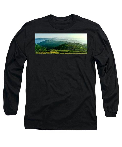Mountaintop Panorama Long Sleeve T-Shirt