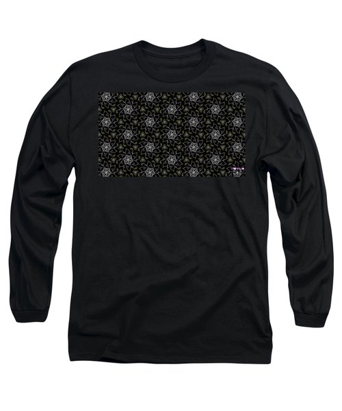 Long Sleeve T-Shirt featuring the digital art Mourning Weave by Elizabeth McTaggart