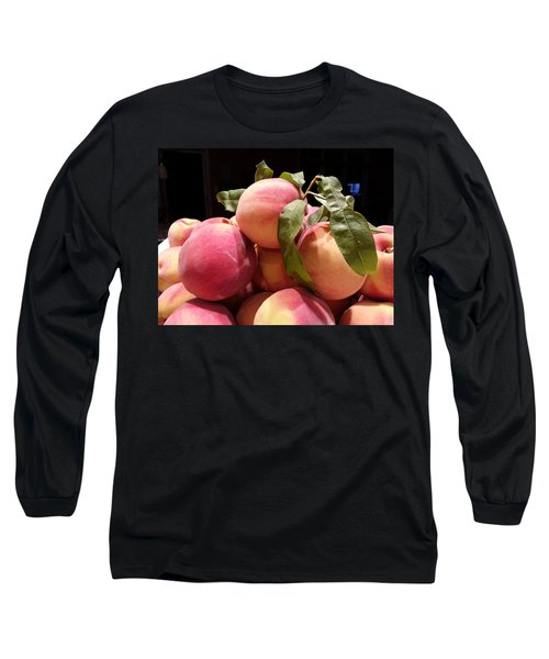 Mouth Watering Long Sleeve T-Shirt by Caryl J Bohn