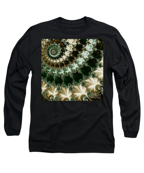 Mozart's Rhythm Long Sleeve T-Shirt by Mary Machare