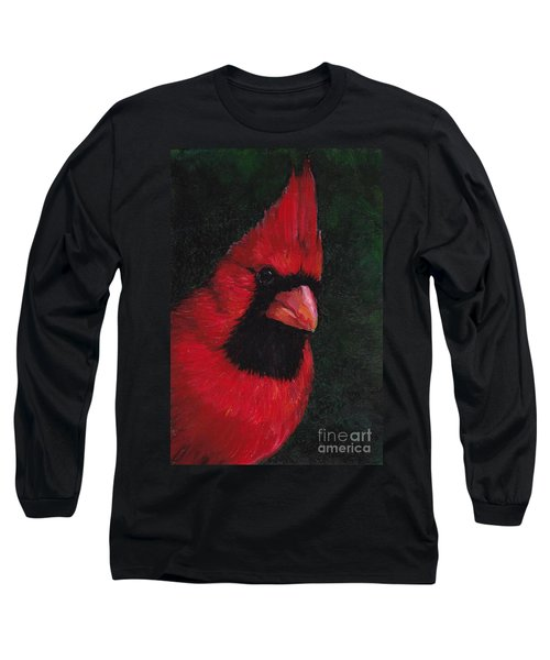 Mr Red Cardinal Long Sleeve T-Shirt
