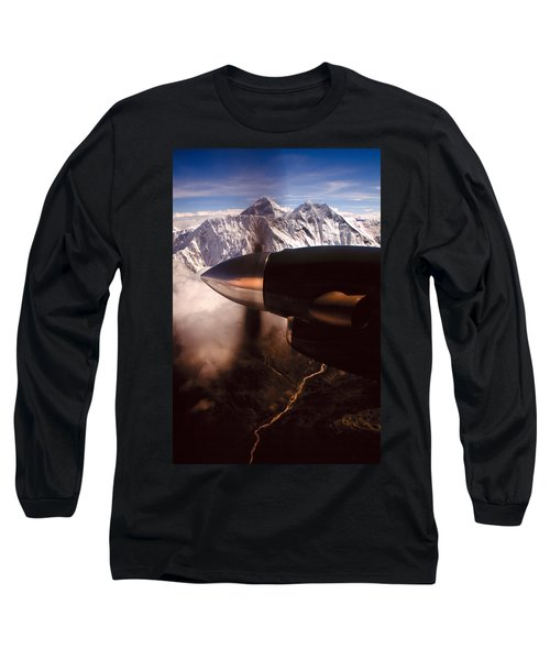 Mt. Everest Long Sleeve T-Shirt