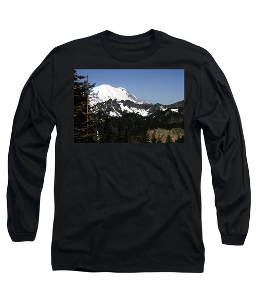 Mt Rainer From Wa-410 Long Sleeve T-Shirt