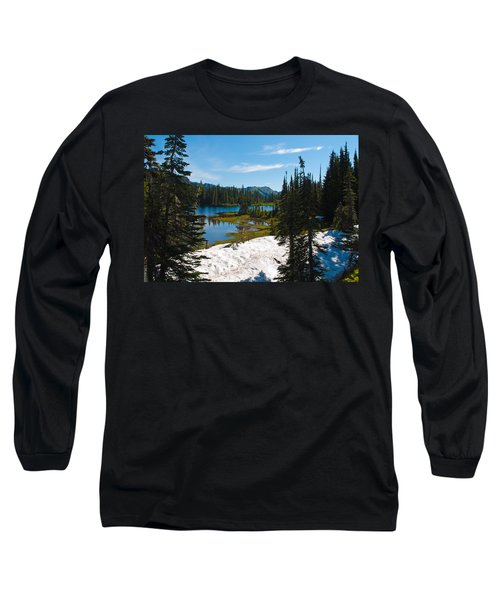 Long Sleeve T-Shirt featuring the photograph Mt. Rainier Wilderness by Tikvah's Hope