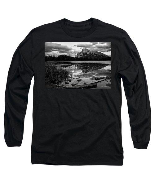 Mt. Rundle Reflection Long Sleeve T-Shirt