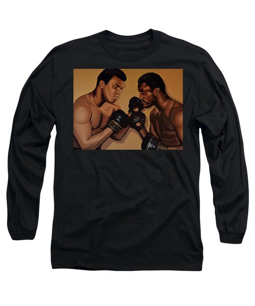 Muhammad Ali And Joe Frazier Long Sleeve T-Shirt