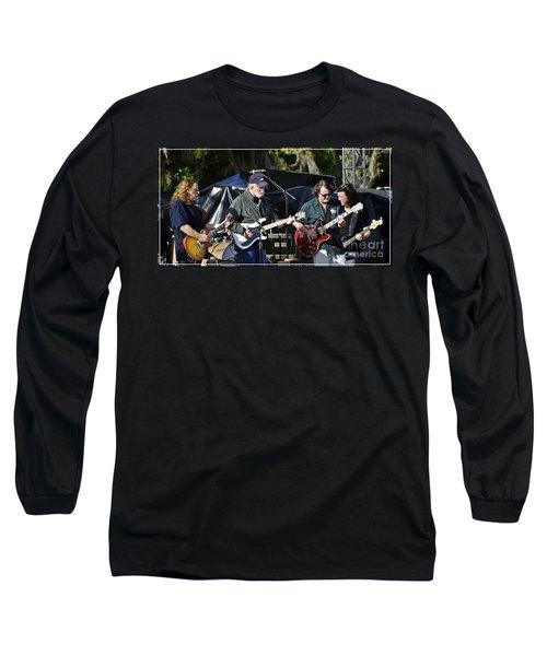 Mule And Widespread Panic - Wanee 2013 1 Long Sleeve T-Shirt by Angela Murray