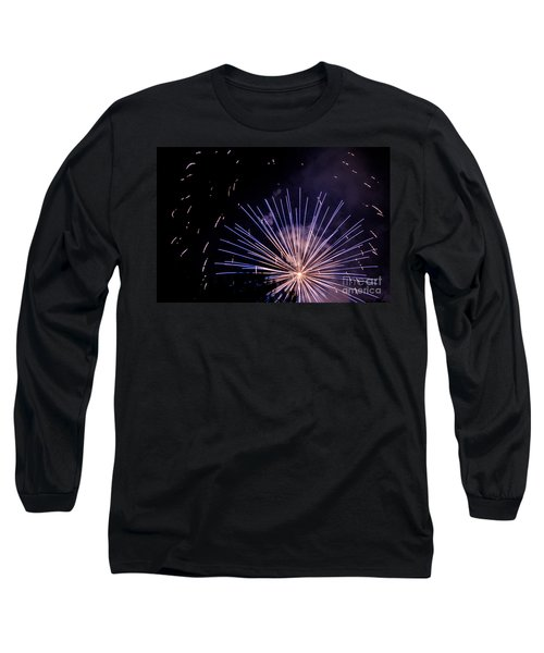 Long Sleeve T-Shirt featuring the photograph Multicolor Explosion by Suzanne Luft