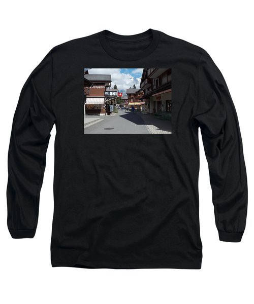 Murren Switzerland Long Sleeve T-Shirt