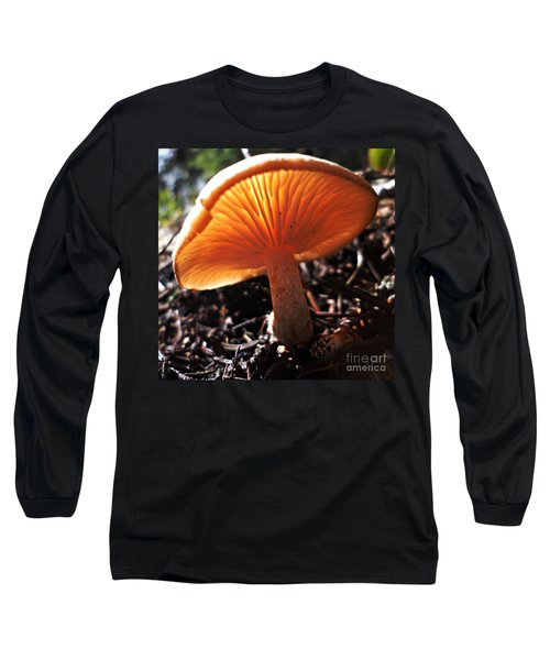 Mushroom Long Sleeve T-Shirt by Janice Westerberg