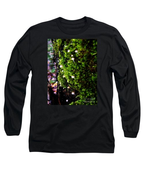 Long Sleeve T-Shirt featuring the photograph Mushrooms by Vanessa Palomino