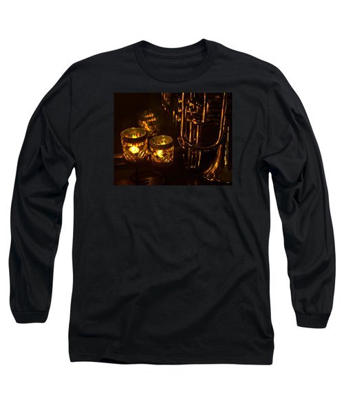 Trumpet And Candlelight Long Sleeve T-Shirt