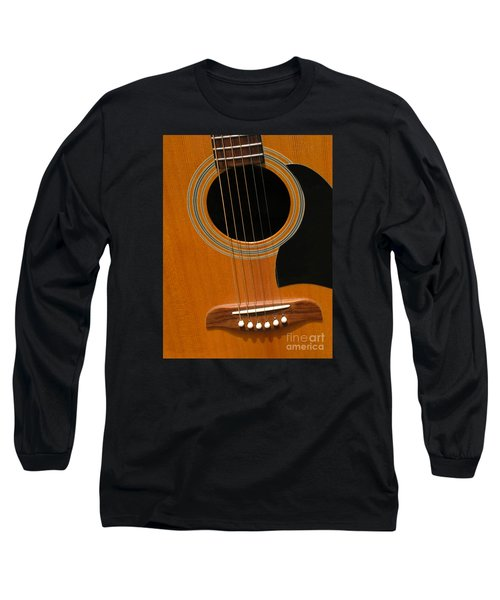 Long Sleeve T-Shirt featuring the photograph Musical Abstraction by Ann Horn