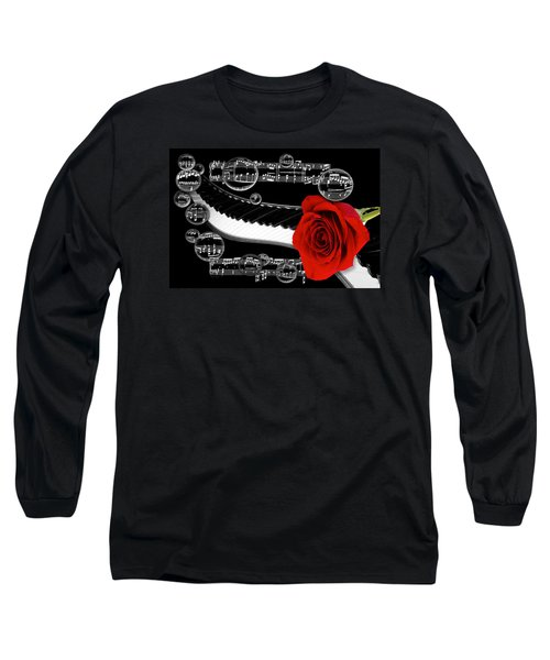 Long Sleeve T-Shirt featuring the photograph Musical Bubbles by Phyllis Denton