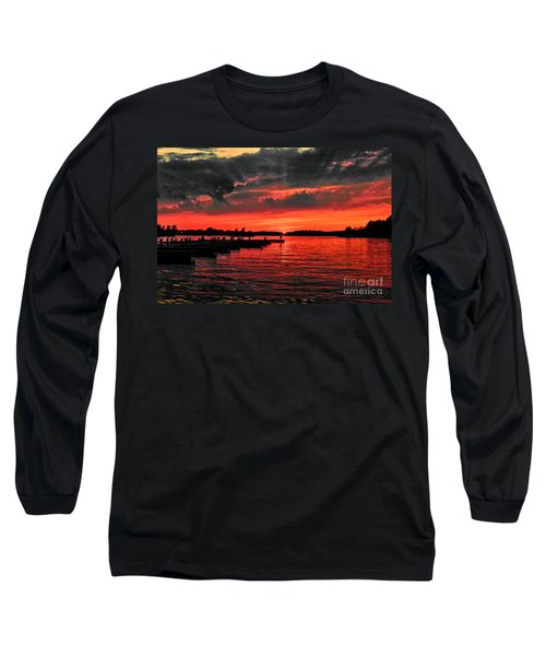Muskoka Sunset Long Sleeve T-Shirt