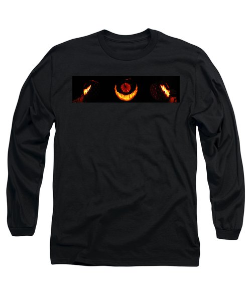 Mutant Strawberry Clock Long Sleeve T-Shirt